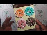Make Your Own Paper Flower Embellishments