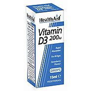 Vitamin D Drops For Children UK