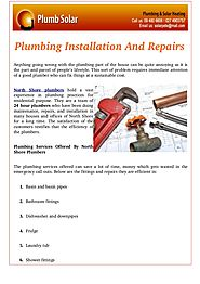 How to Plumbing Establishment & Repairs