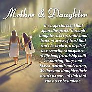 Mothers Day Quotes from Daughter | Mother Daughter Quotes