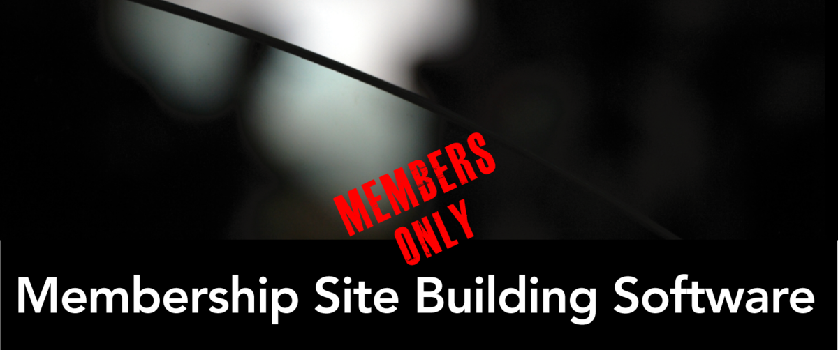 Headline for Membership Site Building Software