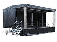 Use of Portable Stages in U.K.
