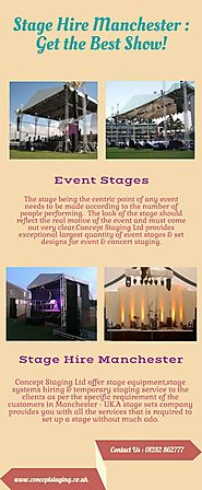 Stage Hire Manchester : Get the Best Show!