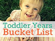The Toddler Years Must Do List - Creative With Kids