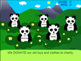 Parts of Speech: Panda Pop - Grammar Games