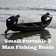 Small Portable 2 Man Fishing Boats • Fins Catcher