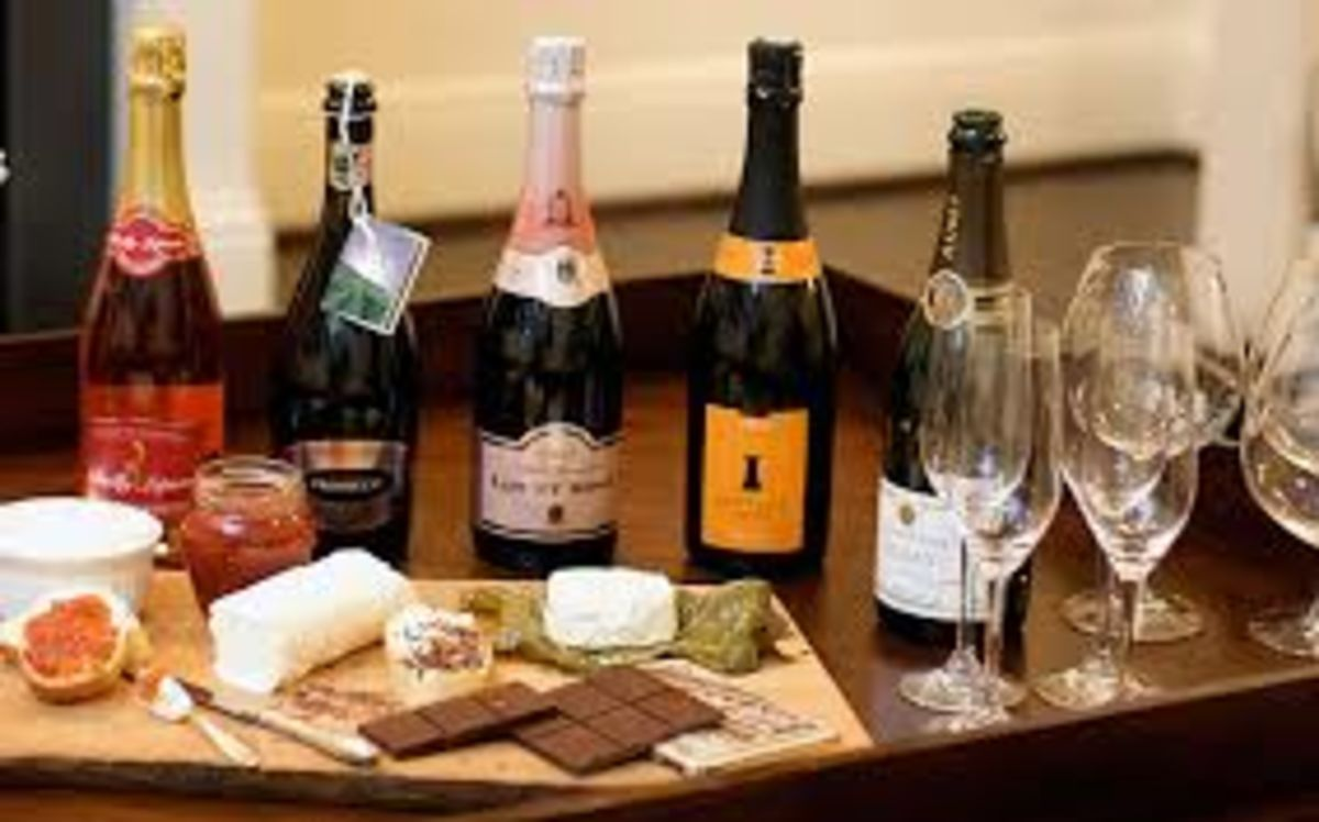 Headline for Dessert Wines and Champagne Cheese Pairings