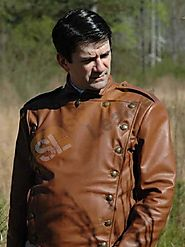 Bill Clifford The Rocketeer Brown Jacket