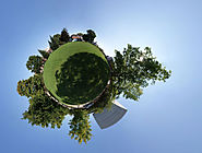 3 steps to create 360 degrees little planet panoramas using Photoshop