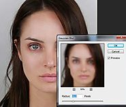 Frequency Separation Retouching in Photoshop