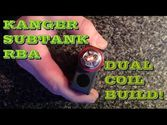 Kanger SubTank RBA Coil Build for Beginners