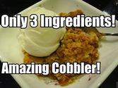 Awesome Cake Mix Cobbler - Crockpot or Ninja Cooking System
