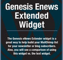 Genesis eNews Extended Widget with MailChimp Tutorial