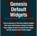 A Tutorial On the Genesis Default Widgets
