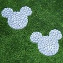 "10"" Wide Disney's Mickey Mouse Stepping Stones at Garden and Pond Depot"