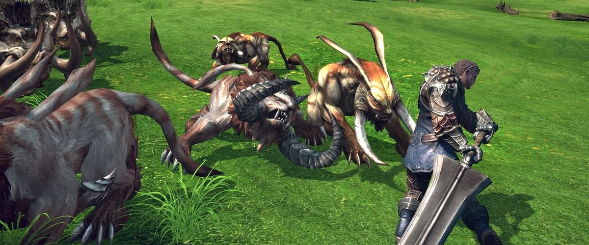 Headline for Ten Best MMO Games