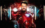 Shah Rukh Khan As Tony Stark