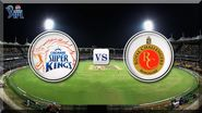 Chennai Super Kings v/s Royal Challengers Bangalore