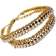 Get Silver & Gold Anklets Online for Girls at Best Prices