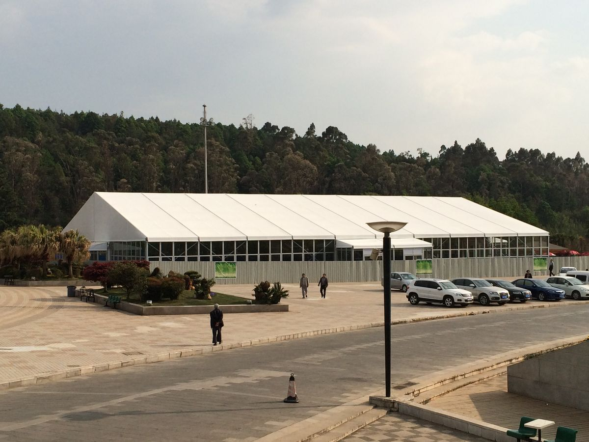 Headline for Exhibition Tent for EXPO in Kunming