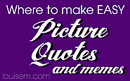 EASY: Top 10 EASY Ways to Make Picture Quotes for Facebook & More!