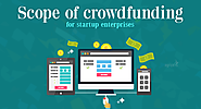 What is crowdfunding and what are its different types?