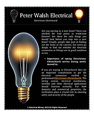 Which Services Do You Expect From Electricians Christchurch