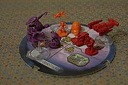 StarCraft Figures from StarCraft Board Game - Project Fellowship