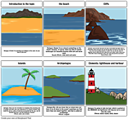 Coastal landscapes storyboard by: jimenaacevedoreina