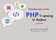 PHP Training in Rajkot for a successful IT career