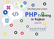 PHP Training in Rajkot by Krina