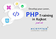 PHP Training in Rajkot - Bagtheweb