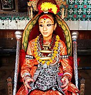 Nepal is the only country in the world home to a living goddess, the Kumari.