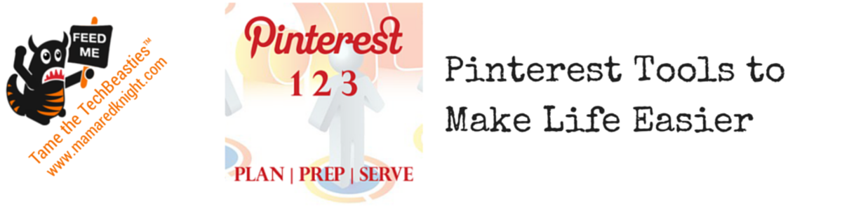 Headline for 10 Pinterest tools to make your life easier