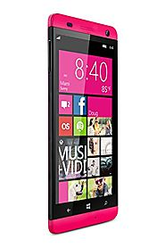 BLU Win HD 5-Inch Windows Phone 8.1, 8MP Camera Unlocked Cell Phones - Pink