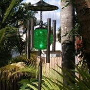 Flipo Solar Wind Chime at Garden & Pond Depot