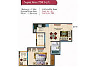 Rudra Palace Heights Floor Plan 1/2/3 & 4 Bhk Flats in Noida | Residential Flat in Noida Extension