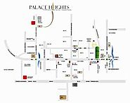 Apartment in Noida Extension | Rudra Palace Heights Location Map