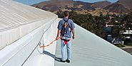 CAI Safety Systems For Roof Horizontal Lifeline