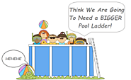 Top 5 Above Ground Pool Ladders For Heavy People With Reviews