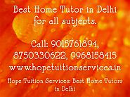 Home Tutor in Delhi:Contact us