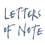 Letters of Note (@LettersOfNote) | Twitter