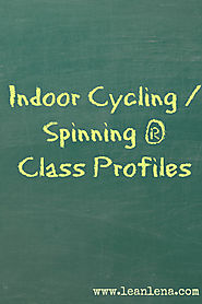 Indoor Cycling Class Profiles - Lean Lena