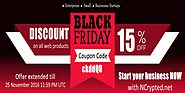 Black Friday offer from NCrypted Websites