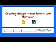 Narration Over Google Slides