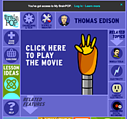 BrainPOP Video: Thomas Edison