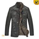 Shearling Leather Coats CW819076 - cwmalls.com