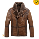 Shearling Leather Jackets CW819066 - cwmalls.com