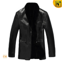 Black Sheepskin Shearling Coats CW866111 - cwmalls.com