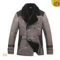 Genuine Shearling Coat CW819167 - jackets.cwmalls.com